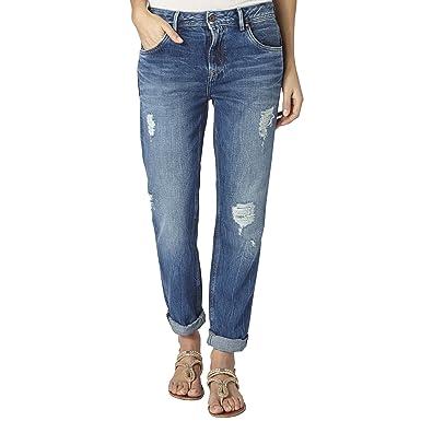 Pepe Jeans Vagabond Jeans Femme BLEU Taille 30  Amazon.fr  Vêtements ... 31874b07ab08