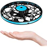 Hand Operated Drones for Kids Toddlers Adults - Mini LED Hands Drone for Kids Small UFO Flying Ball Drone Toys for Kids…