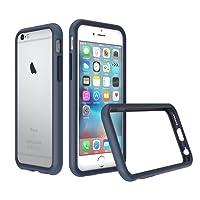 RhinoShield Coque pour iPhone 6 / iPhone 6s [Bumper CrashGuard] | Housse Fine avec Technologie Absorption des Chocs [Résiste aux Chutes de Plus DE 3,5 mètres] - Bleu Foncé