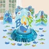 Ahoy Baby Table Decorating Kit Centerpiece Blue Boy Shower Birthday