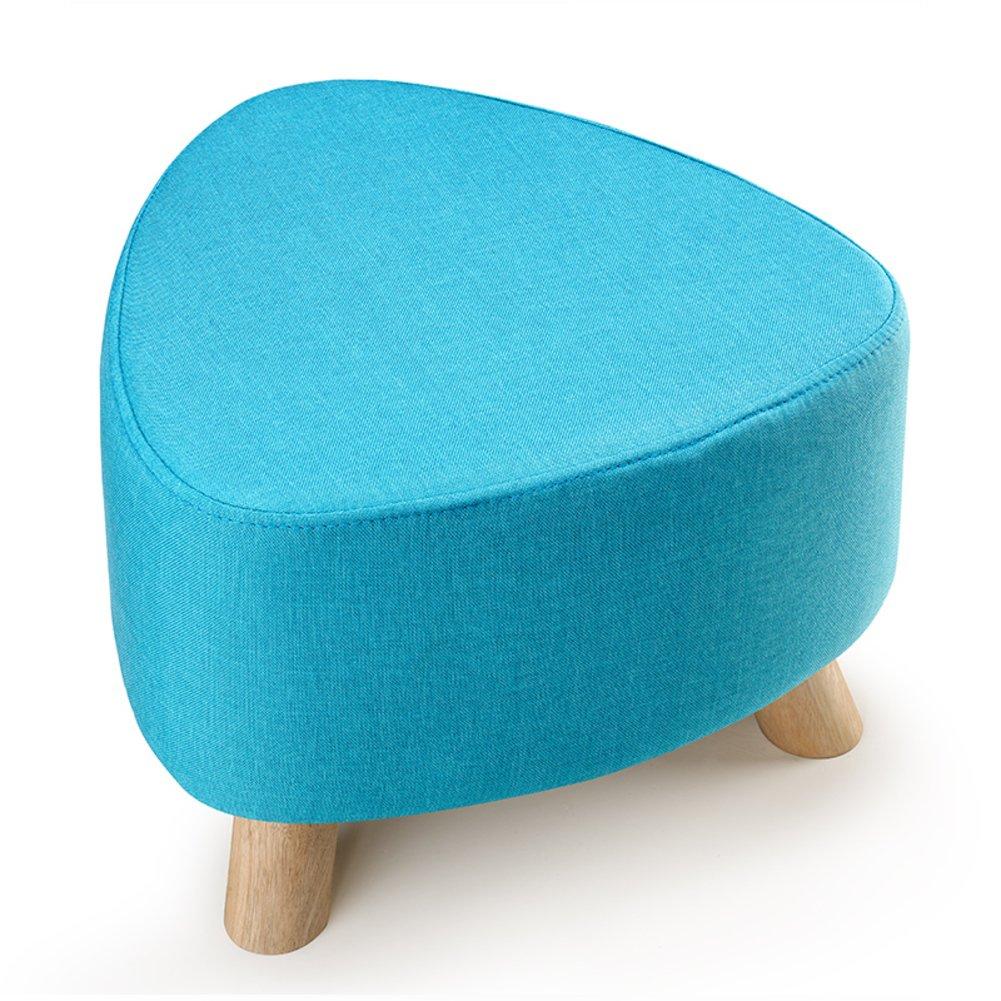 A 28x39cm(11x15inch) Low Stool,Three-Legged Removable and Washable Firmness Fabric Solid Wood Small Stool shoes Stool Sofa Bench-d 28x39cm(11x15inch)