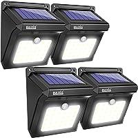 4-Pack Baxia 28-LED Solar Powered Motion Sensor Wall Lights