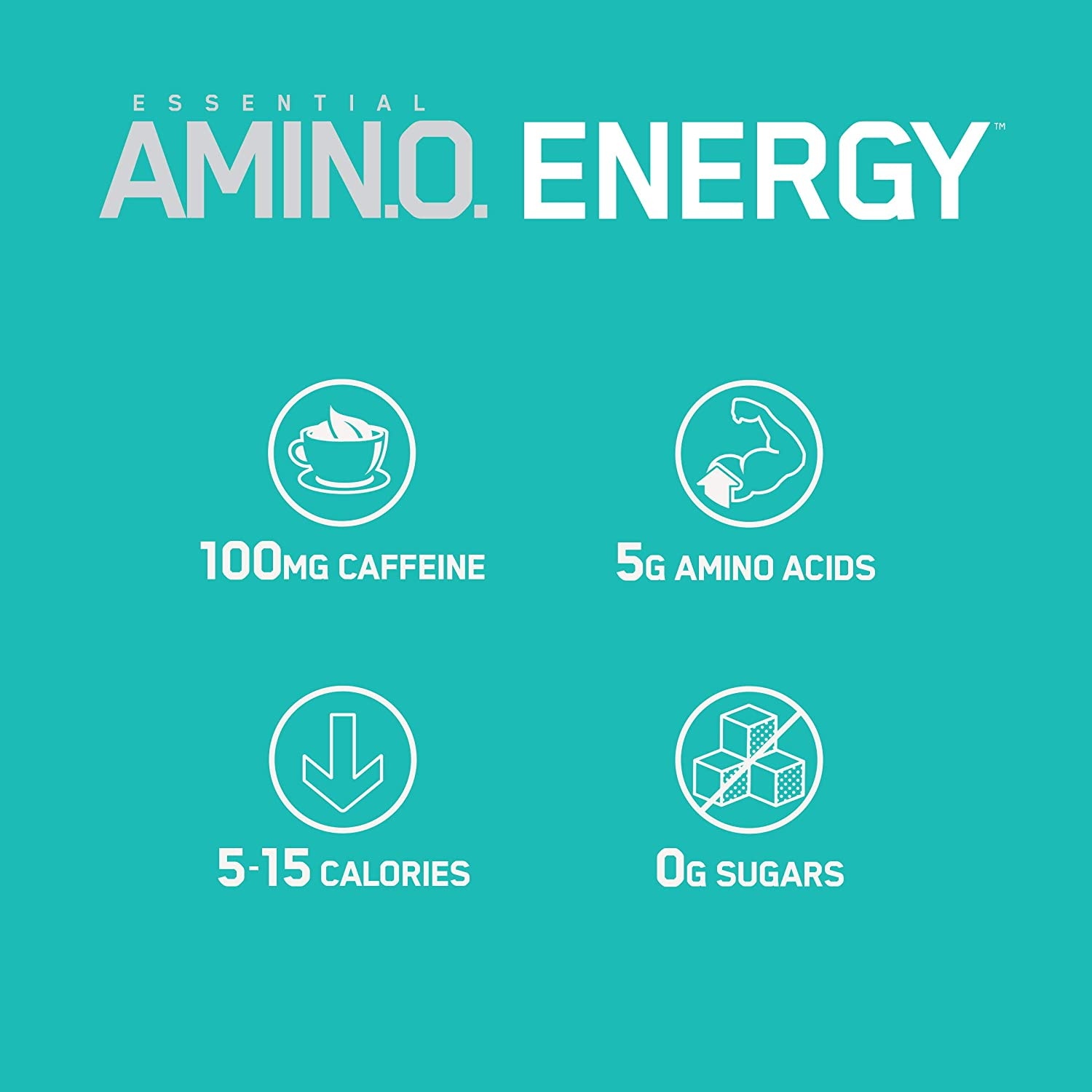 Optimum Nutrition Amino Energy Ready-to-Drink, 20.64 Ounce 1 Count