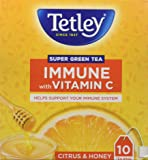 Tetley Super Green Tea, Immune, 10 Tea Bags