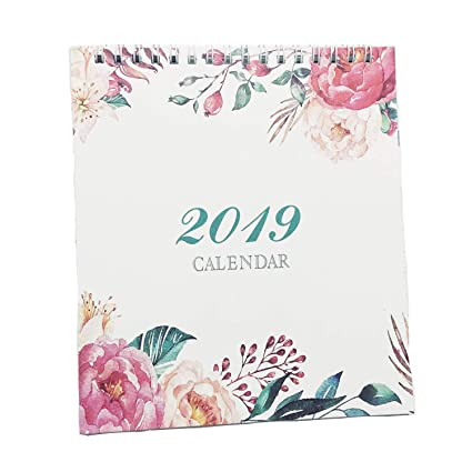 Small Calendar Of November And December 2019 Amazon.: Small Desk Calendar Planner, Popmall 2019 Monthly