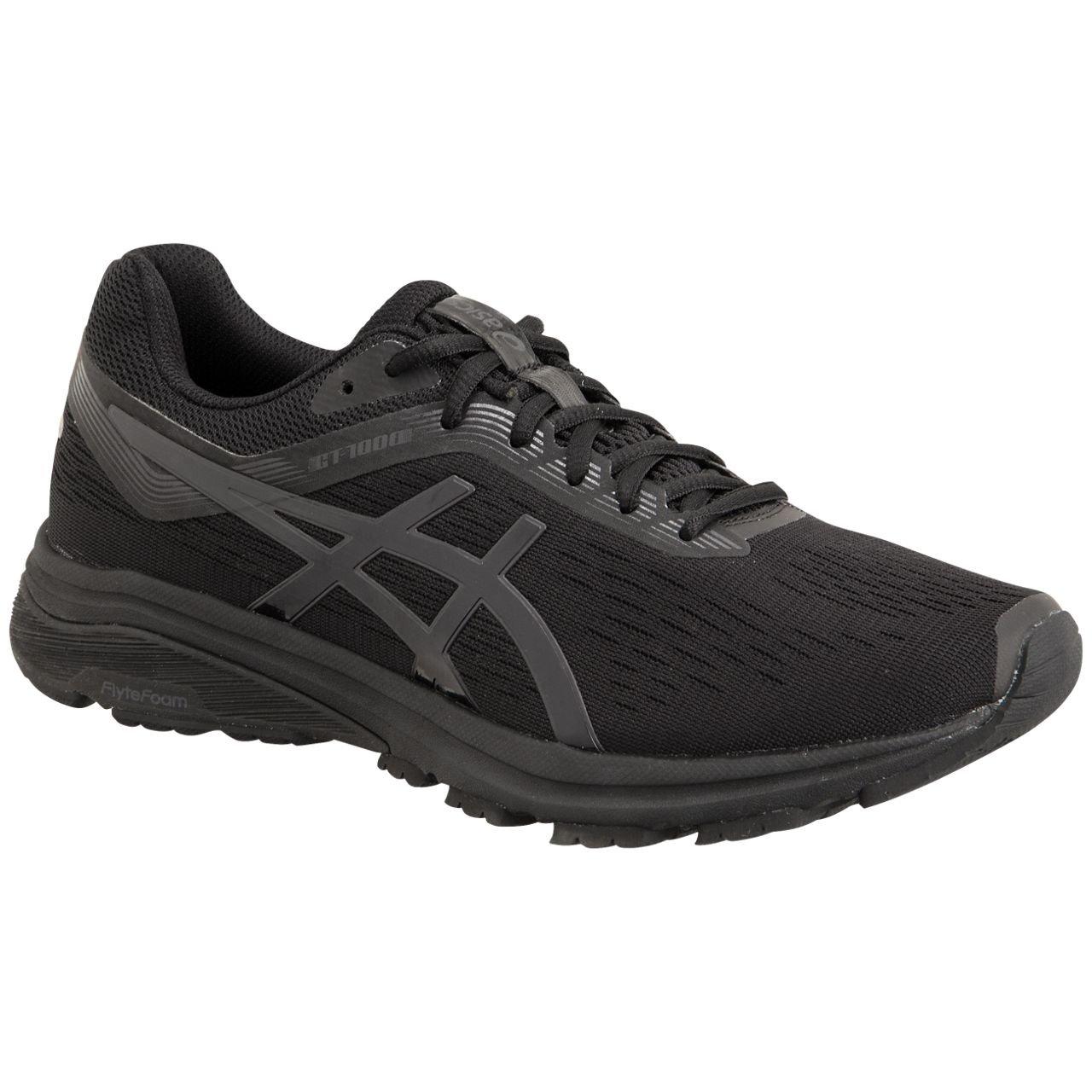 ASICS Men's, GT 1000 7 Running Sneakers 4E Wide Width B079SHFJK9 12 M US|Black/Phantom