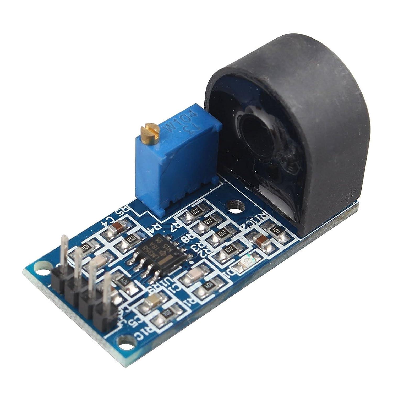 HALJIA 5A Single Phase AC Current Sensor Module With Active Output Transformer Module And Current Sensor Module