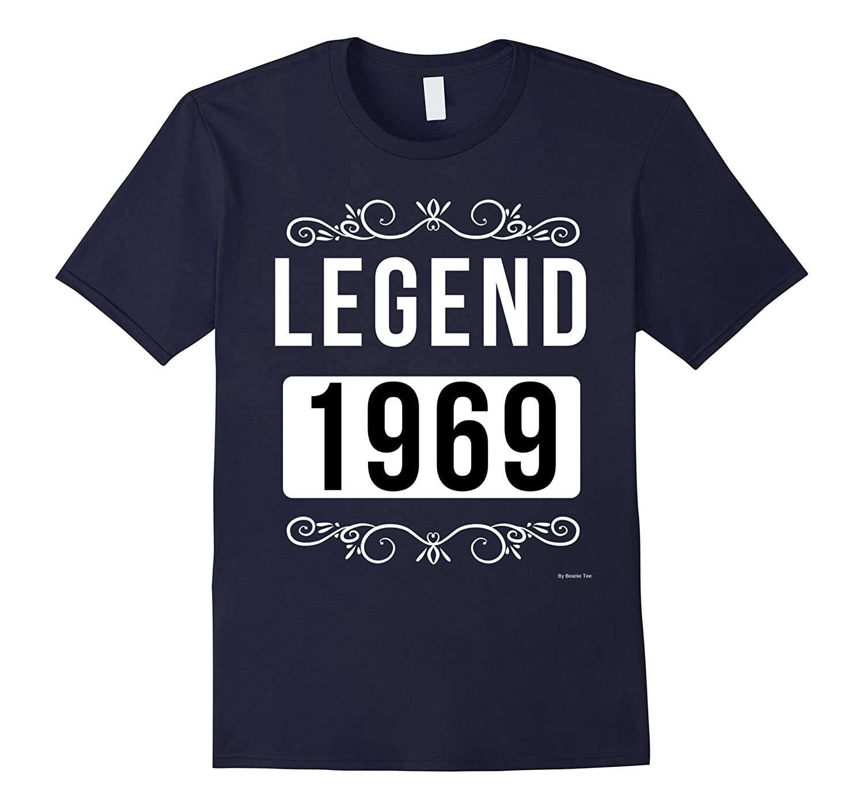 1969 Birthday Shirt Legend Since 1969 Born In 1969 Tee-TH