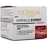 L'Oreal Anti-Wrinkle Expert Firming Day Cream with Retino Peptides (for Age 45+) 50 mL