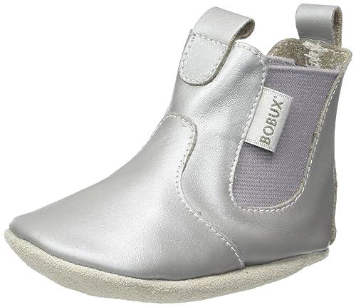 Bobux Stiefel Silber, Mocasines para Bebés: Amazon.es: Zapatos y complementos