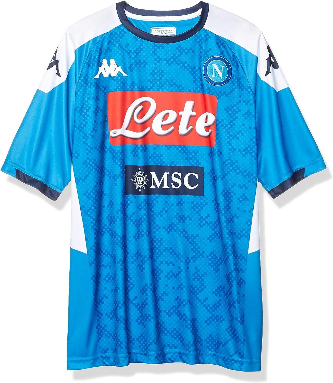 Ssc Napoli Men's Replica Home Match Shirt 2019/2020