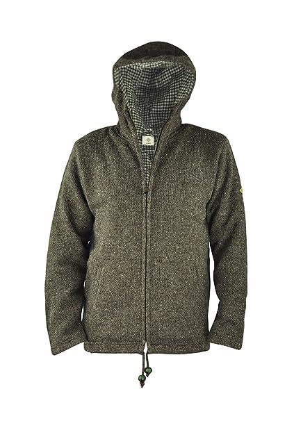 Chaqueta virblatt para hombres de revestimiento de lana en tallas S, M, L,
