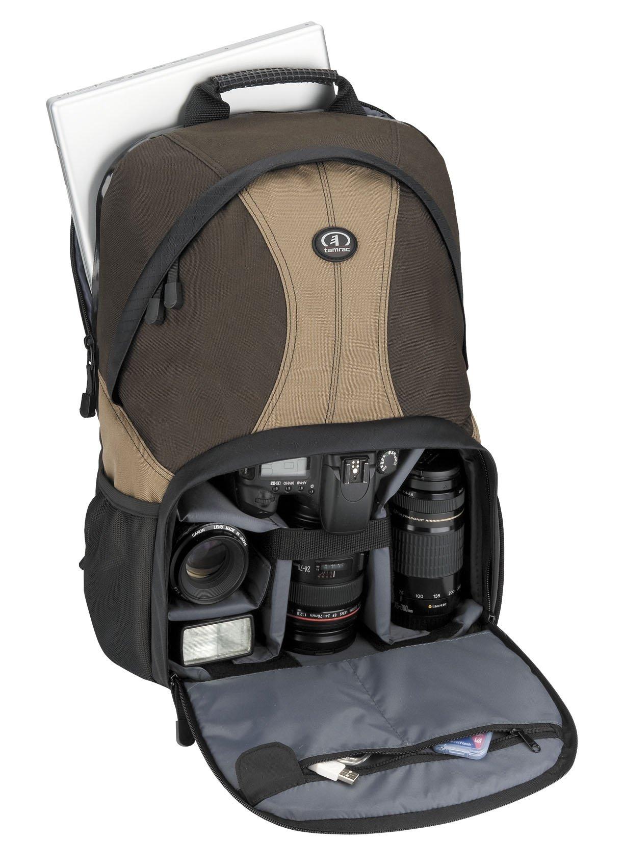 Tamrac 3380 Aero 80 Photo/Laptop Backpack (Brown/Tan) by Tamrac