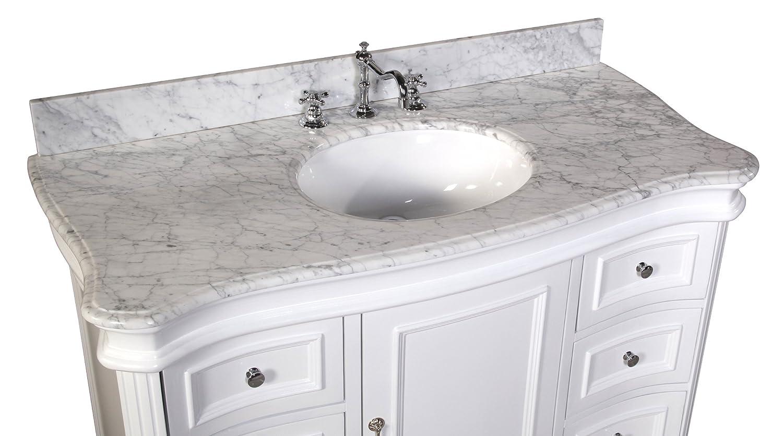 Bathroom Vanities Woodbridge Kitchen Bath Collection Kbc A48wtcarr Katherine Bathroom Vanity