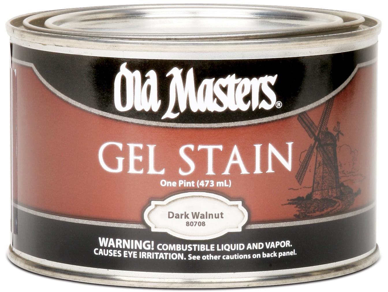 Old masters 80708 gel stain pint dark walnut household wood old masters 80708 gel stain pint dark walnut household wood stains amazon nvjuhfo Image collections
