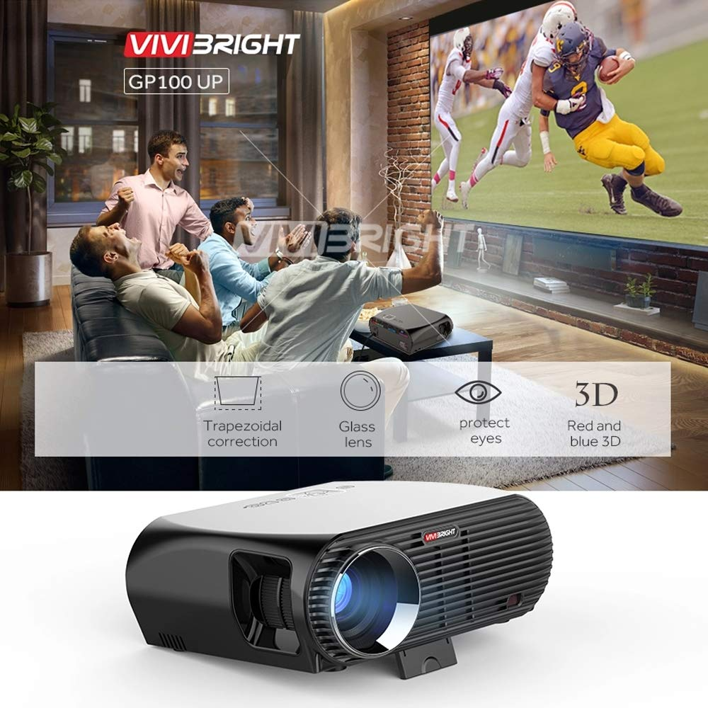 T ECH Proyector HD, Mini Proyector De Video LED Compatible con ...