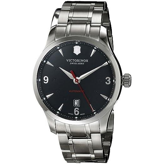 Victorinox Swiss Army - Reloj de Pulsera analógico automático para Hombre Acero Inoxidable 241669: Amazon.es: Relojes
