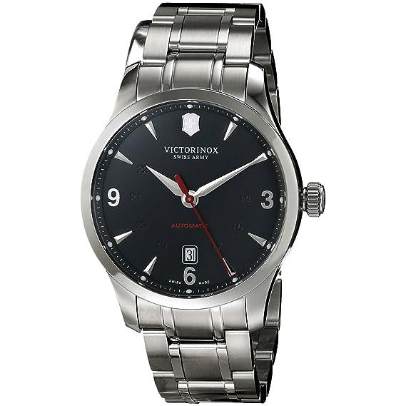 Victorinox Swiss Army – Reloj de Pulsera analógico automático para Hombre Acero Inoxidable 241669