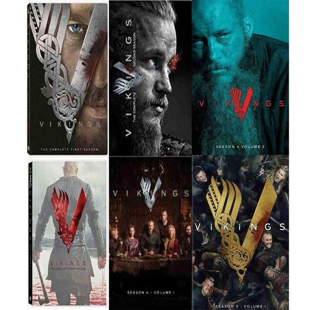 Vikings: Complete Series Seasons 1-5 DVD New