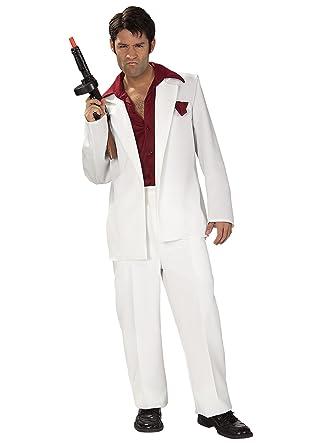 Amazon.com: Tony Montana Costume - Standard - Chest Size 46: Clothing
