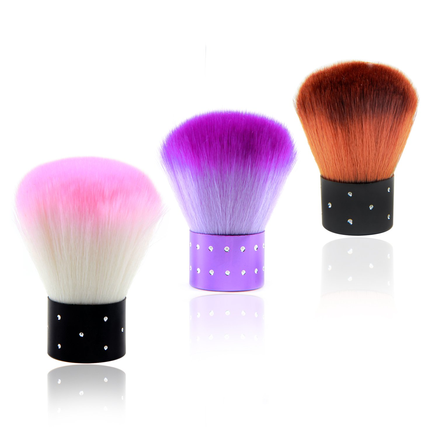 ANGNYA Nail Art Dust Clean Brush Soft Nail Cleaning Brush For Acrylic & UV Nail Gel Dust Power Remover Cleaner Brush Nail Art Tools