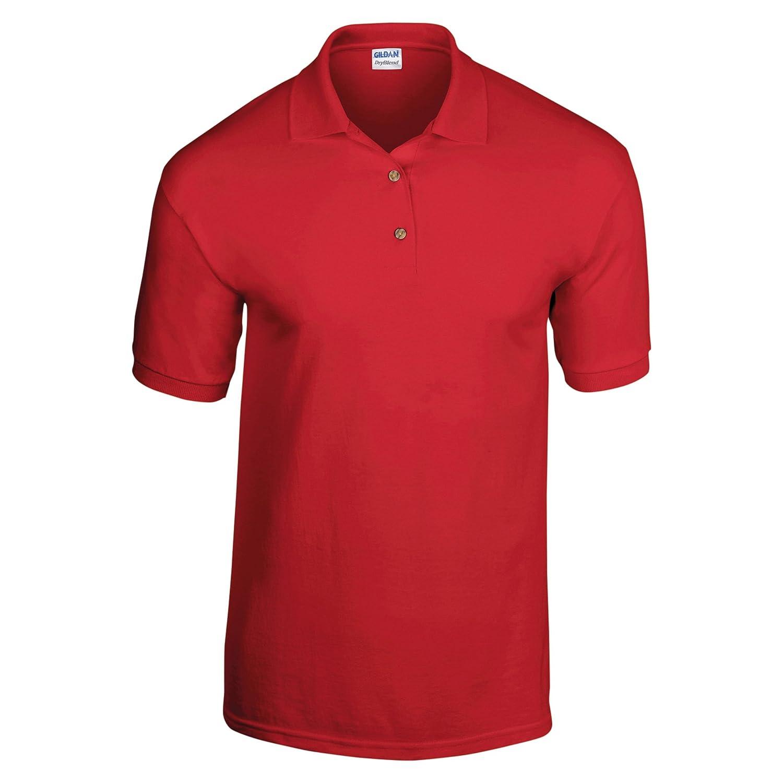 Gildan DryBlend Childrens Unisex Jersey Polo Shirt