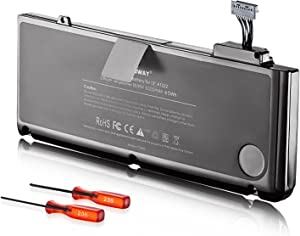 E EGOWAY Replacement Laptop Battery for MacBook Pro 13 inch A1278 A1322