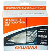 $21 Get SYLVANIA - Headlight Restoration Kit - 3 Easy Steps to Restore Sun Damaged Headlights With…