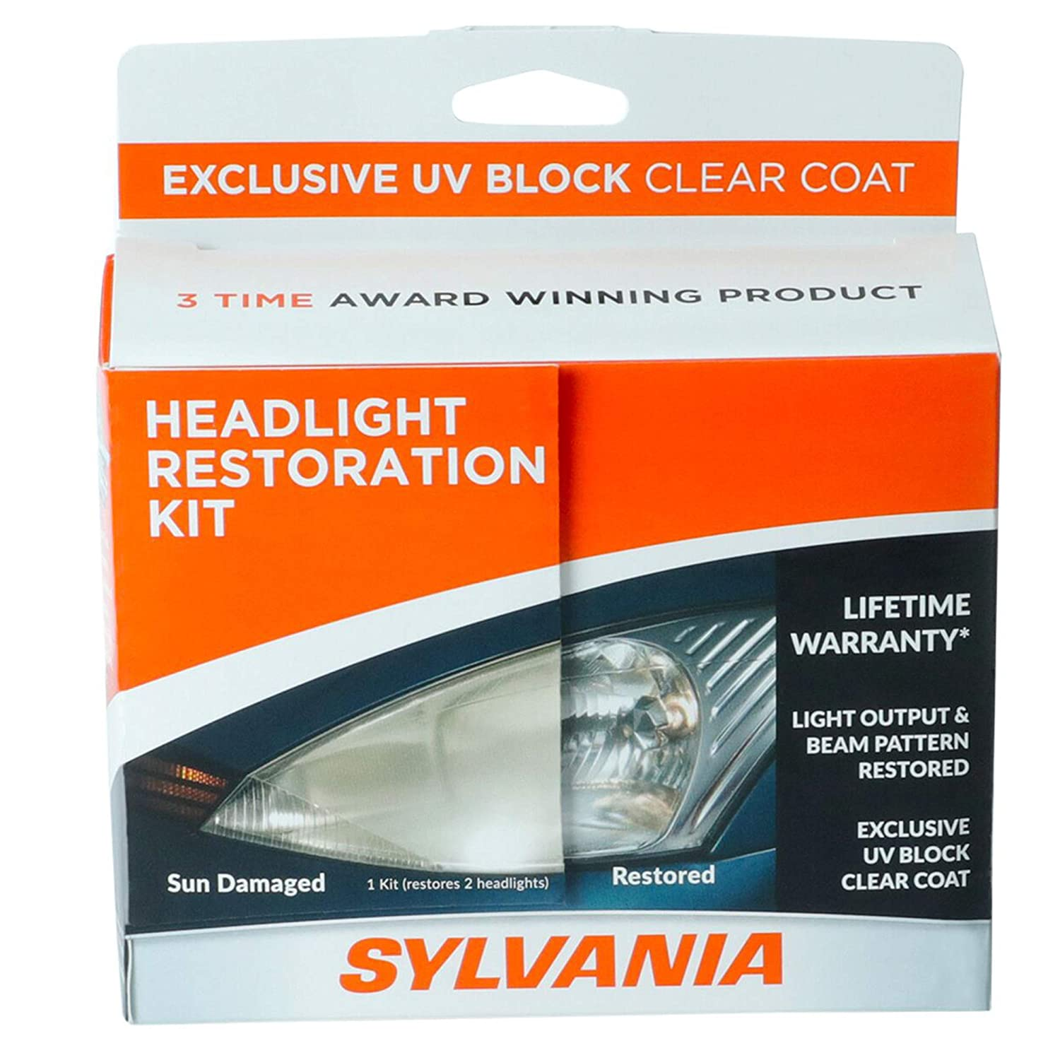 SYLVANIA - Headlight Restoration Kit