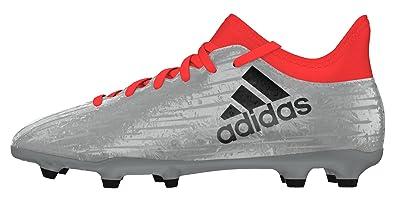 adidas Jungen X 16.3 FG J Fußballschuhe, Plata (Plamet/Negbas/Rojsol), 36 2/3 EU