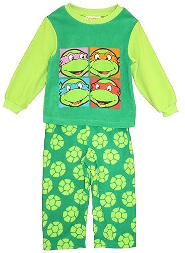 Amazon.com: Nickelodeon Ninja Turtles L/S PJ - Juego de ...