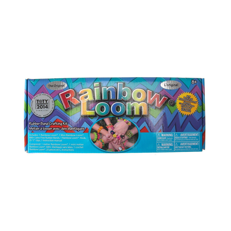claire u0027s the original rainbow loom bands amazon co uk clothing