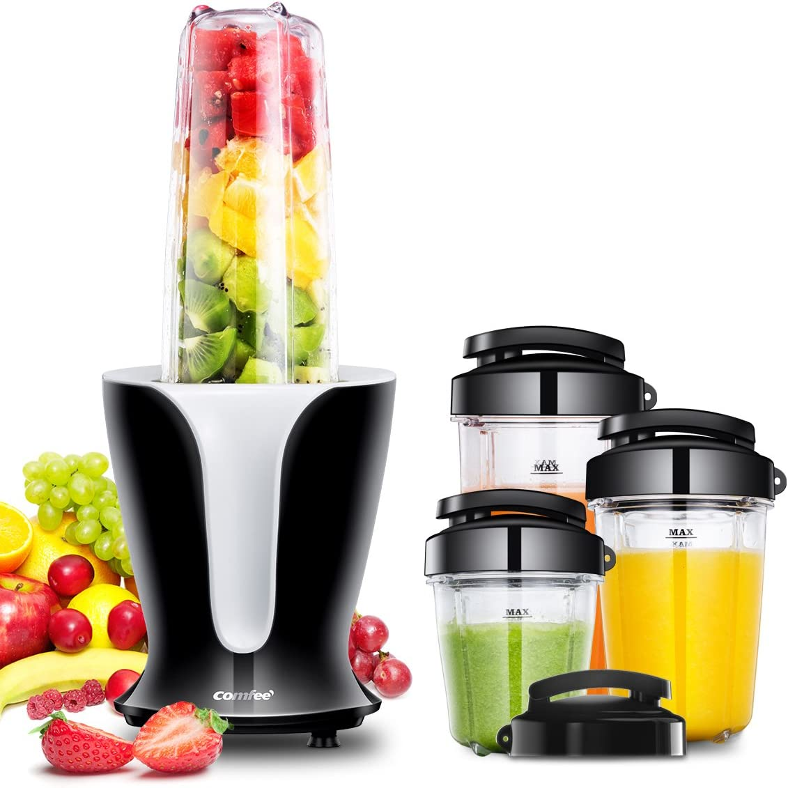 Comfee BL1191 Personal Blender Set, 10 Piece - CBS BAHAMAS LTD