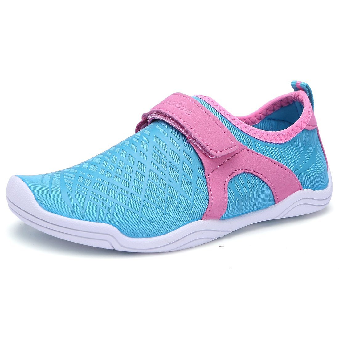 BTDREAM Boy and Girls Athletic Water Shoes Quick-Dry Slip on Aqua Sock for Beach Pool Swim Surf Walking