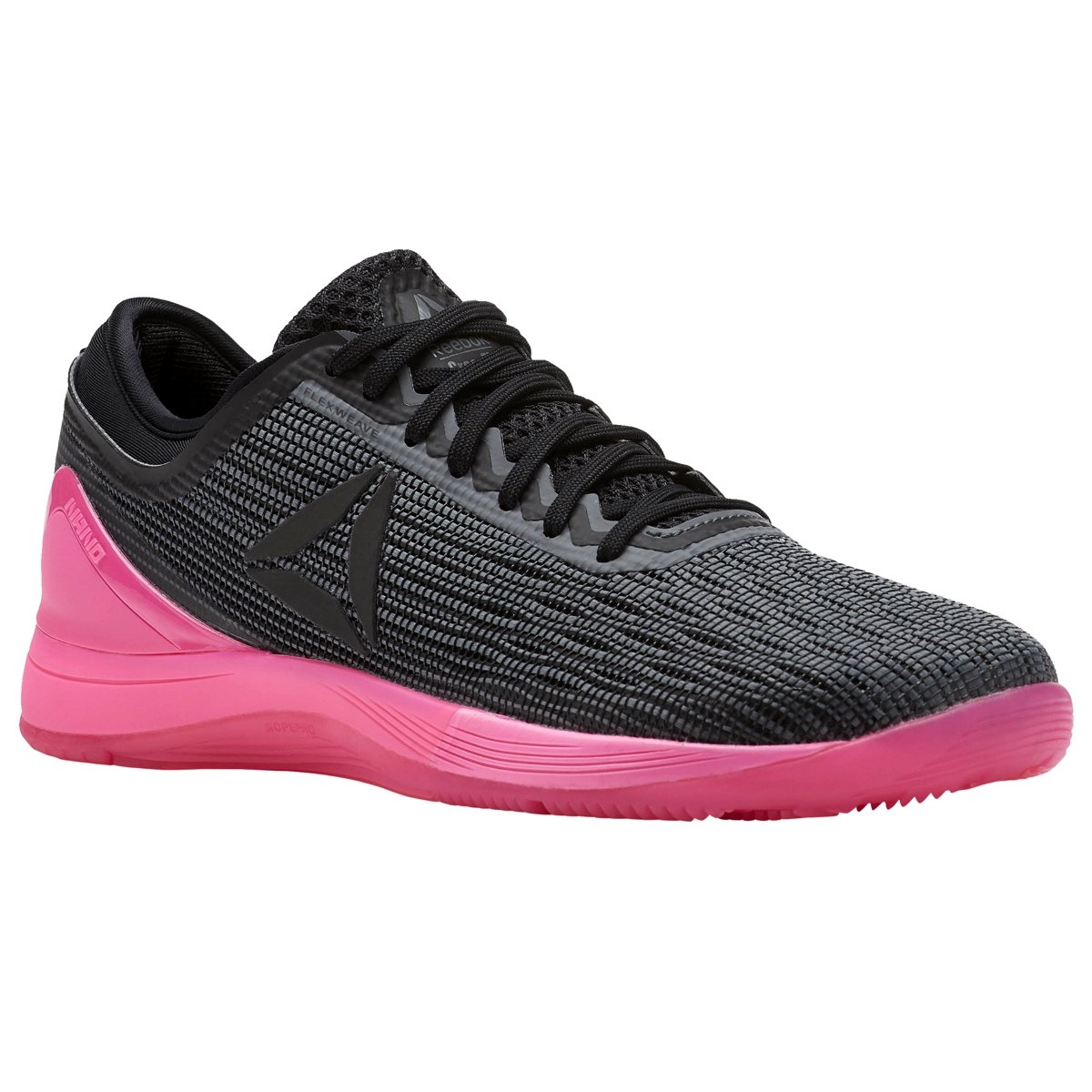 Reebok Women's Crossfit Nano 8.0 Flexweave Cross Trainer B077V9RDQ2 11 B(M) US|Alloy/Black/Solar Pink