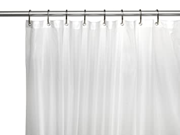 Curtains Ideas 84 inch shower curtain liner : Amazon.com: Carnation Home Fashions 10-Gauge PEVA 72 by 84-Inch ...