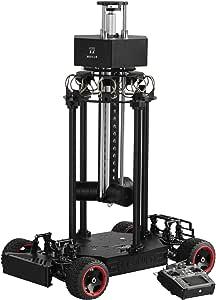 4WD 360 VR Camera Car+ Auto Lifting & Rotating Stabilizer for Insta360 PRO 2, Titan