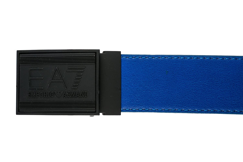 a08991f86d7 Emporio Armani EA7 ceinture homme raccourcie réversible train core id blu  EU 105 2753768P69322933  Amazon.fr  Vêtements et accessoires