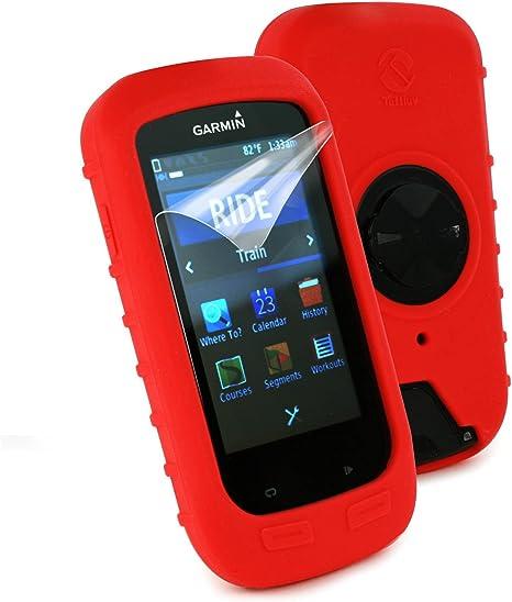Tuff-Luv H3_37_5055261817688 Carcasa rígida Silicona Rojo: Amazon ...