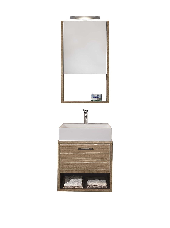 tft mobile bagno con specchio giava: amazon.it: casa e cucina - Tft Arredo Bagno Opinioni