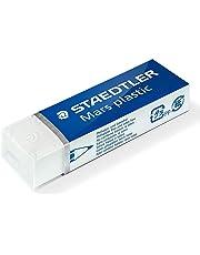 Staedtler Mars Plastic, Gomme plastique blanche de très haute qualité, Sans phtalates ni latex, 526 50 ST