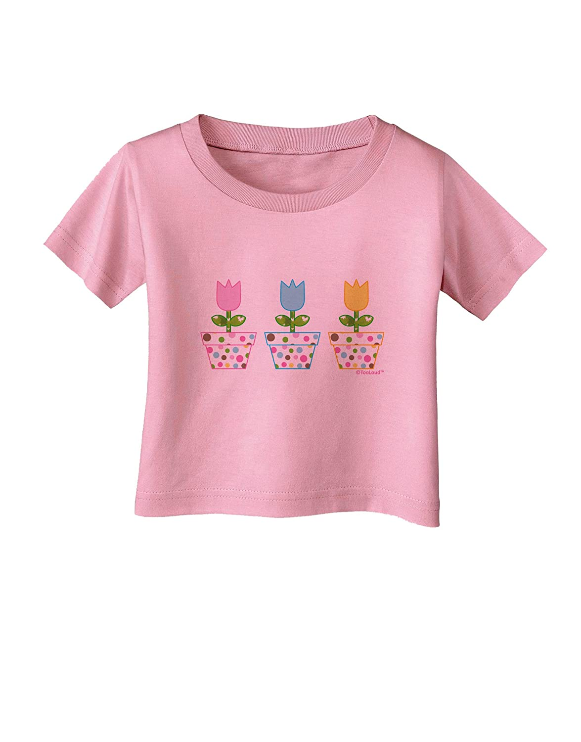 TooLoud Three Easter Tulips Infant T-Shirt