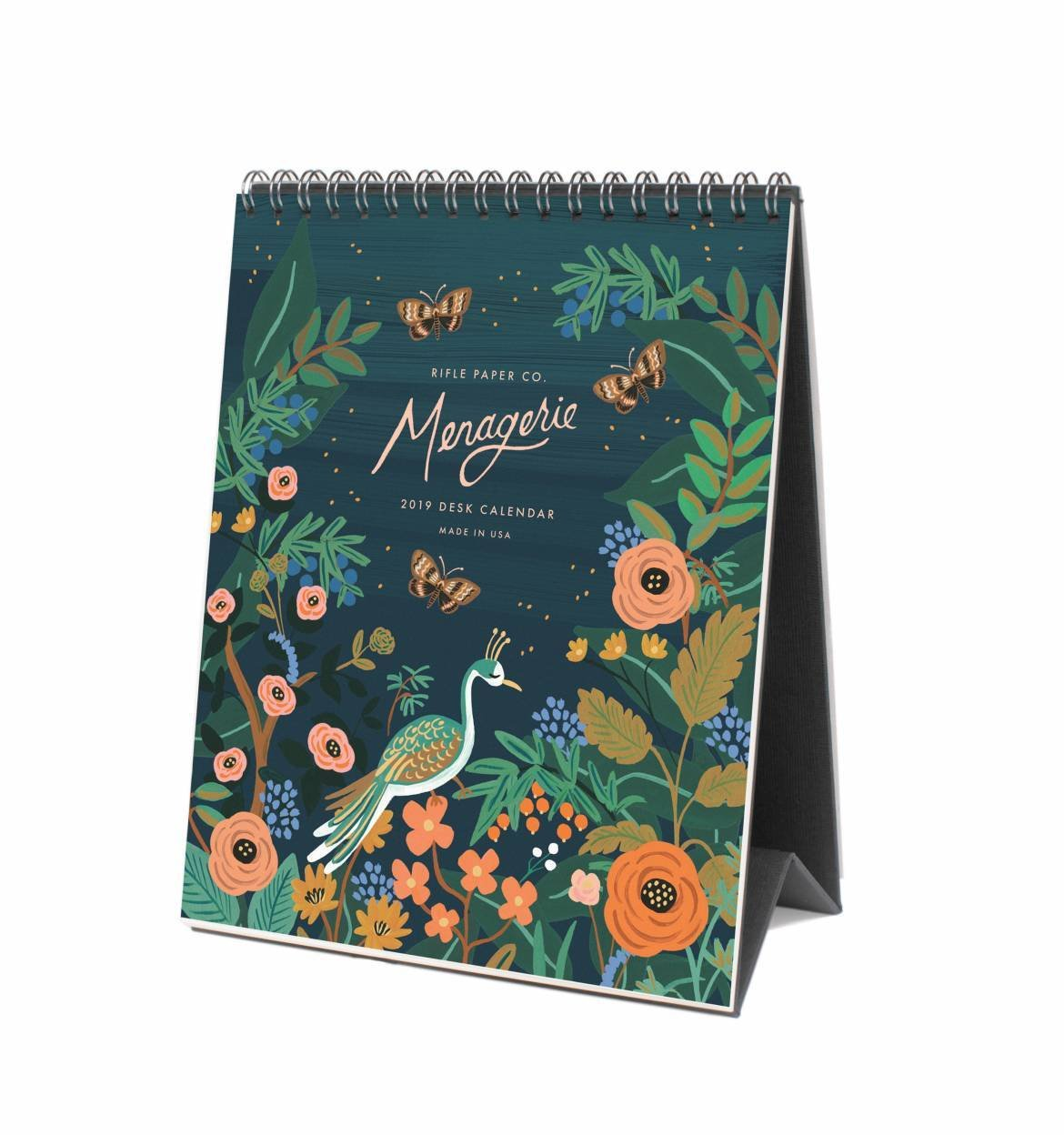 Rifle Paper Co. Midnight Menagerie Desk Calendar 2019