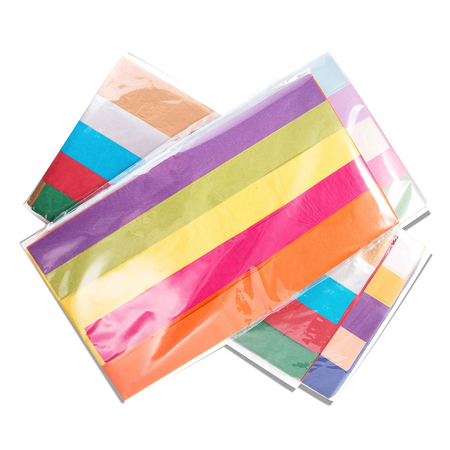 Amazon 110 count wrapping multi colored tissue paper bulk for amazon 110 count wrapping multi colored tissue paper bulk for craft gift wrap includes red orange yellow aqua purple turquoise rose gold teal silver jeuxipadfo Gallery