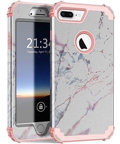 Amazon.com: ZHK - Carcasa rígida para iPhone 7 y 8 Plus ...