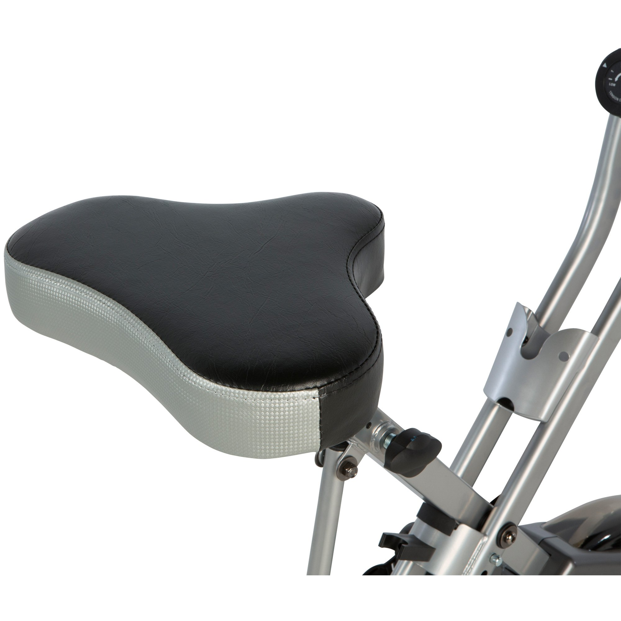 Exerpeutic Folding Magnetic Upright Exercise Bike with 300 lbs Weight Capacity by Exerpeutic (Image #7)