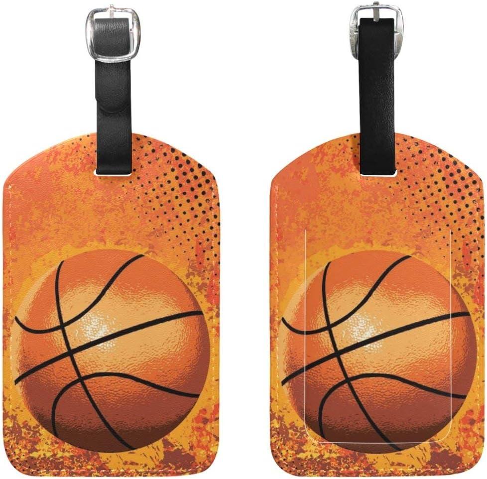 Etiquetas para Equipaje de Baloncesto, 2 Unidades, con Tarjeta ...