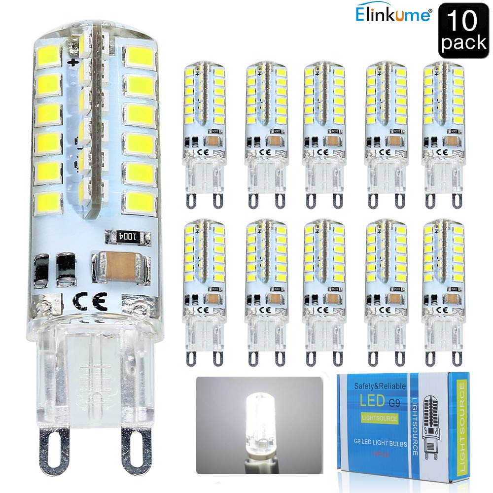 48 2835led 240v 10x Blanc Ac 5w Led 3 Froid 200 Lumineux Lampe 350lm Ampoule Smd Bulb G9 Super MSULGzqjVp