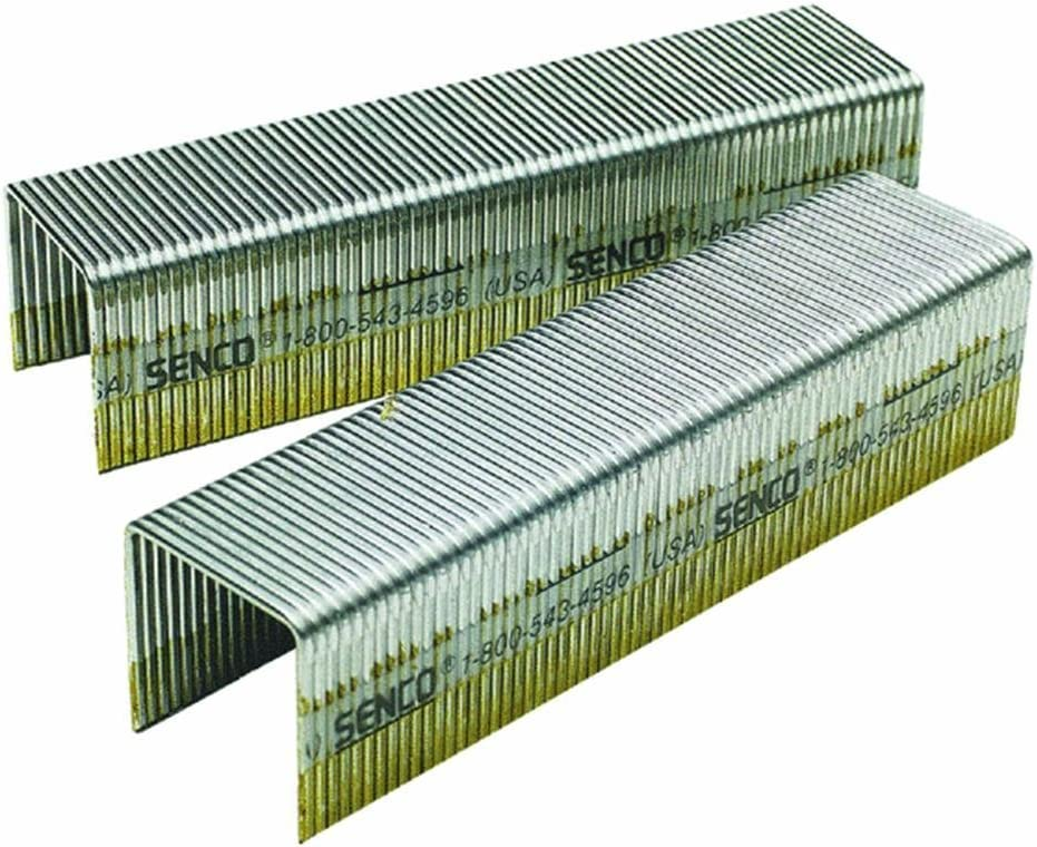 10,000 per box Senco P13BAB 16 Gauge by 1-inch Crown by 1-inch Length Electro Galvanized Staples