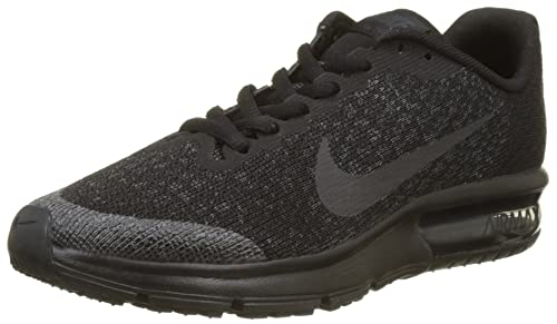 Nike Air MAX Sequent 2 (GS), Zapatillas de Entrenamiento para Niños, Negro Black-Anthracite 009, 39 EU: Amazon.es: Zapatos y complementos
